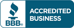 Auxo Medical is proud to be accredited by the Better Business Bureau
