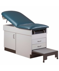 Clinton 8890 Family Practice Table With Step Stool Exam