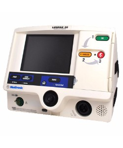 Lifepak 20 With Pacing & SPO2
