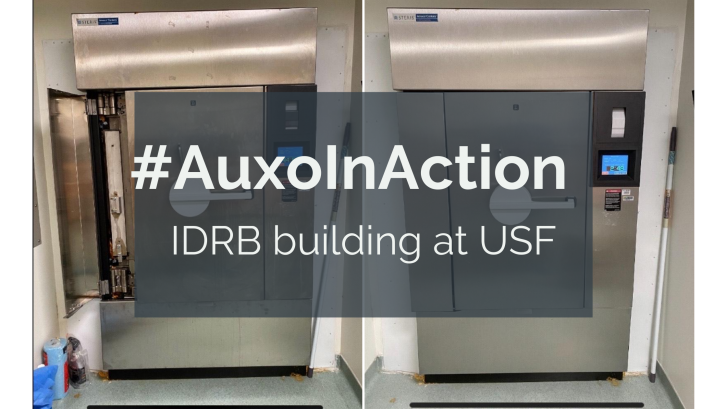 Auxo in Action: USF and Richmond Spine Interventions